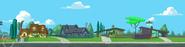 Perry flies to Doof's house