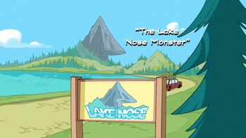 The Lake Nose Monster title card
