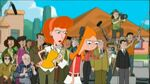 Linda and Candace scolding Phineas and Ferb