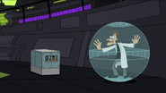 Doof and Perry both trapped