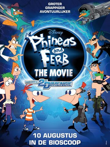 File:Phineas and Ferb Across the 2nd Dimension Dutch theatrical poster.jpg