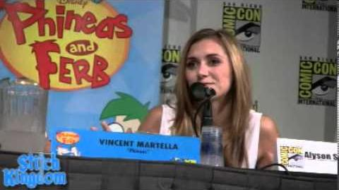 Phineas and Ferb Panel at SDCC 2012