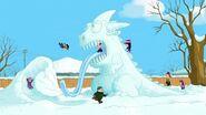 Ice dragon sliding