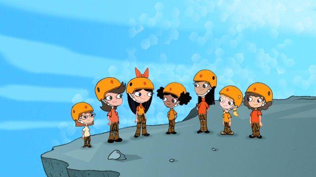 File:Fireside girls in rock climbing gear.jpg