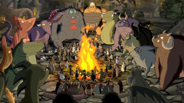 File:Monsters around the fireplace.JPG