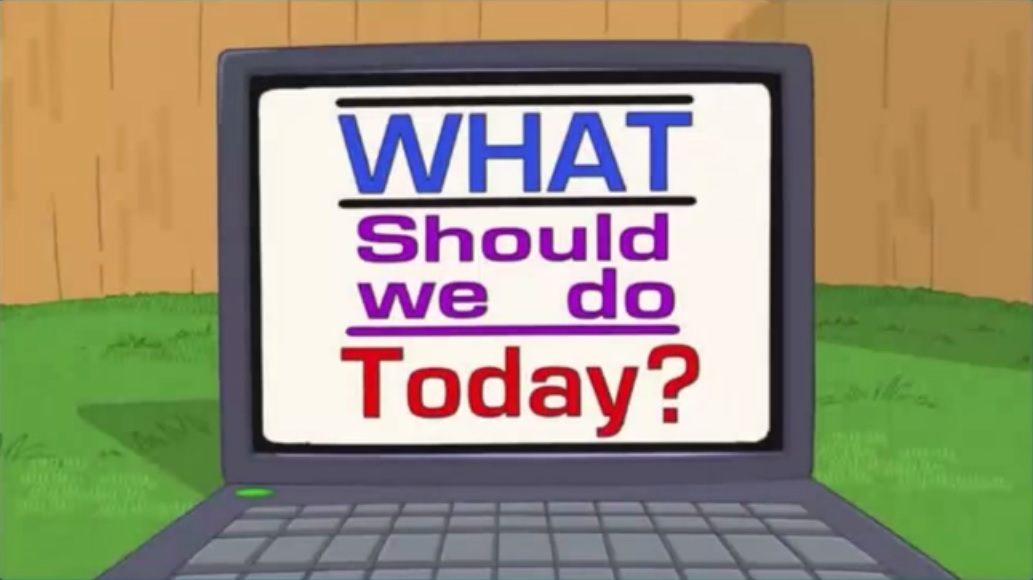 What Should I Do Today