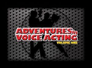 Adventures in Voice Acting title screen