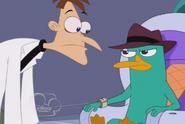 Doofenshmirtz is up to no good