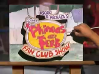 Oscar & Michael's Phineas and Ferb Fan Club Show logo