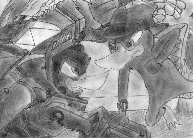 File:Platypus VS Platyborg, by namvutran.jpg