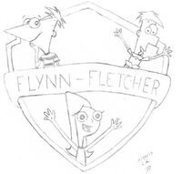 Los hermanos Flynn-Fletcher, by lord-clerigo