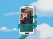 Perry's phone