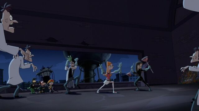 File:Candace, Vanessa and Doofenshmirtz ready to fight the doof zombies.jpg