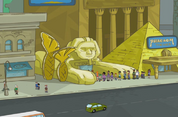 Pharaoh Theater exterior