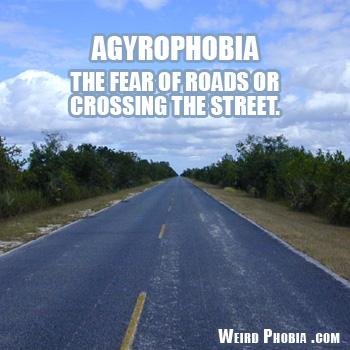 Agyrophobia