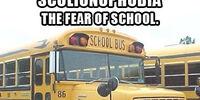 Scolionophobia