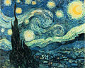 Starry Night by Van Gogh (also a jigsaw puzzle ).jpg