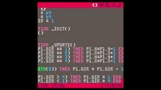 Writing a game using PICO-8 - Part 1 RNDBITS-000