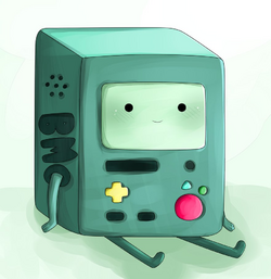 Bmo adventure time fanart by chocomax-d50d2ts