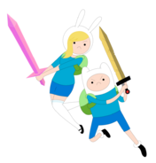 Adventure time fionna n finn by janelvalle-d47ki4r