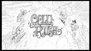Gold Rush title card pencil art