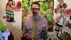 Pig Goat Banana Cricket Meet the Creators Johnny Ryan & Dave Cooper Nick Animation Studio
