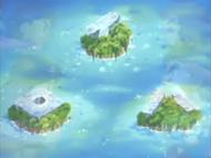Cardinal Islands