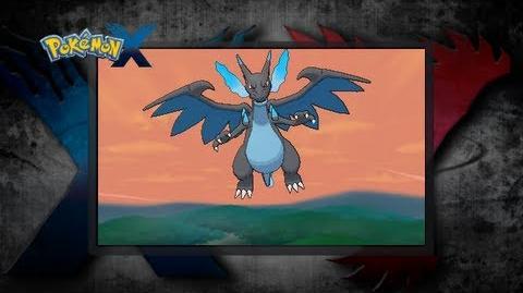 Pokémon X and Pokémon Y UK Mega Charizard X!