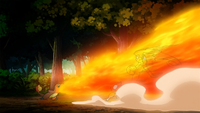 Silus Charmander Flamethrower