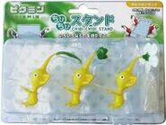 The japan only Yellow Pikmin Stands