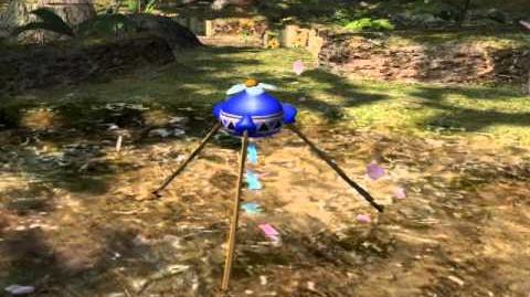 Pikmin 2 - Blue Onion Boot Up (Unused cutscene)