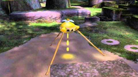 Pikmin 2 - Yellow Onion Boot Up (Unused cutscene)-0