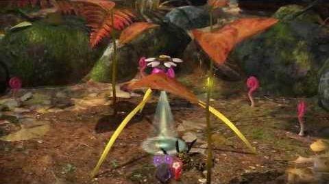 Pikmin 3 Day Twelve - Pink Onion and Winged Pikmin