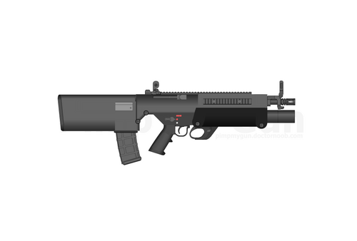 MWWC Bullpup Rifle 1 GRENADES