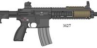 M27 + M27 SV (Sniper Version)