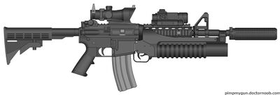 M4A1 Internal SOPMOD