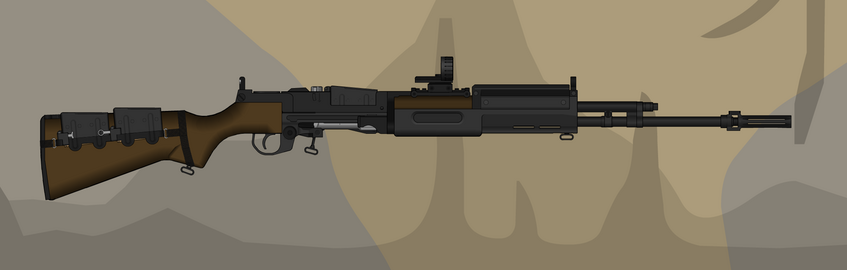 XM14 Low-Recoil Inverted Rifle