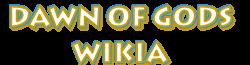 Dawn of Gods wiki logo wordmark