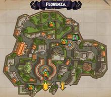 (Map) Florenza