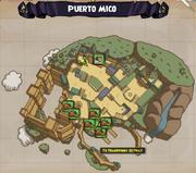 (Map) Puerto Mico