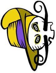 Second Swashbuckler Skull Symbol