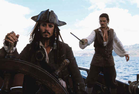 File:Captain Jack Sparrow and Will on the HMS Interceptor.jpg