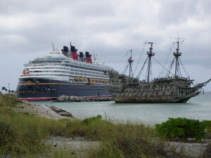 Disney Wonder and the Flying Dutchman