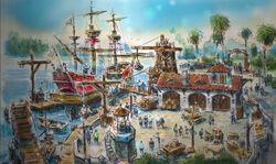 Entrance-to-Treasure-Cove-Shanghai-Disneyland