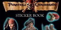Pirates of the Caribbean Glow-in-the-Dark Sticker Book