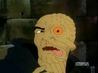 Morpho's face