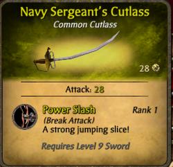 Navysergeant'scutlass-clearer