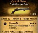Grand Pistol Upgrade: Erasmus' Pistol