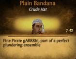 M Plain Bandana