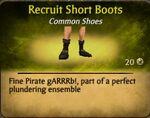 Recruit Short BootsF